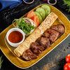 Фото к позиции меню Шашлык из говядины
