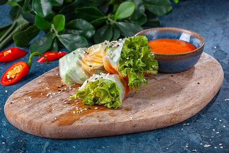 Фреш-ролл с овощами