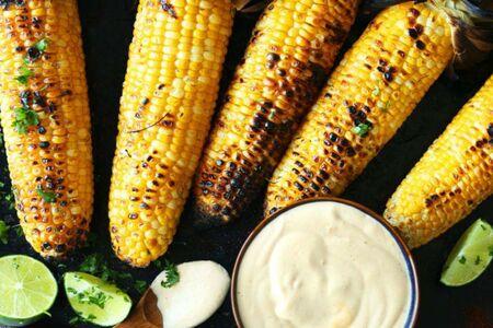 Кукуруза в початках жареная в печи