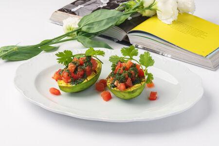 Авокадо гриль
