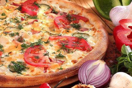 Пицца Шашлычная тонкая