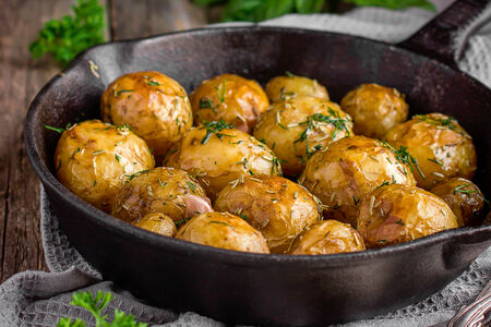 Обжаренный мини-картофель