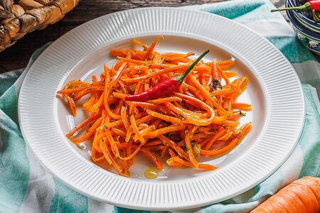 Салат Морковь-ча