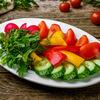 Фото к позиции меню Овощная тарелка