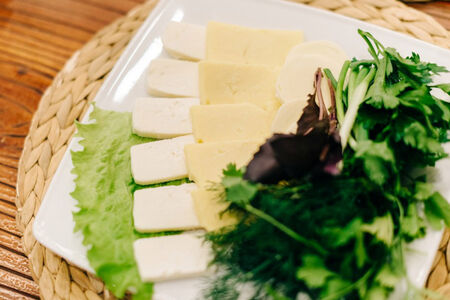 Сырная армянская тарелка