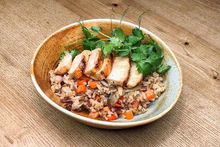 Вок Тайский рис с курицей