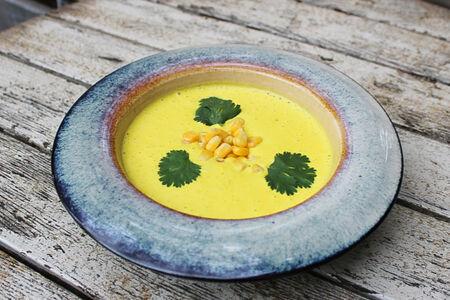 Крем-суп из кукурузы