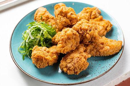 Жареная курица в кляре