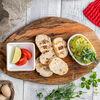 Фото к позиции меню Гуакамоле с тостами и лаймом