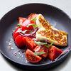 Фото к позиции меню Салат из сладких помидоров с тархуном