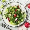 Фото к позиции меню Зеленый салат с микрозеленью