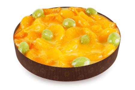 Пирог Йогурт с мандаринами
