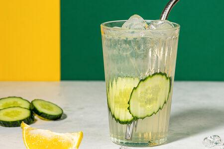 Лимонад Огурец и лимон