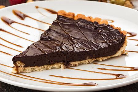 Шоколадно-черепаховый пирог