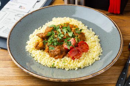 Говядина по-мароккански с кус-кусом
