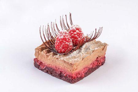 Десерт Трюфель с малиной