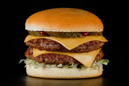 Чизбургер Дабл c говядиной