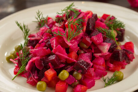 Салат Винегрет с ароматным маслом