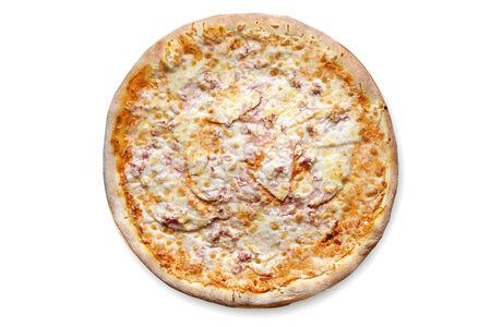 Пицца с ветчиной и индейкой