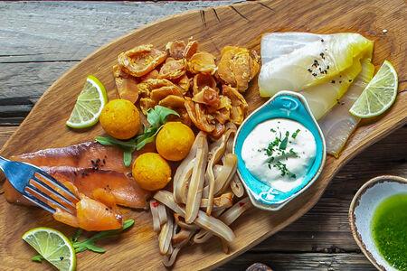 Тарелка рыбного ассорти