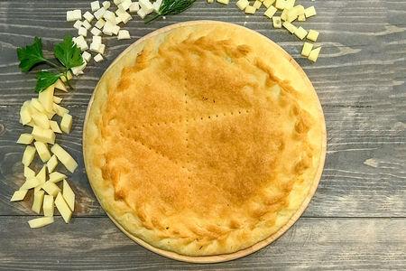 Пирог с алтайскими сырами