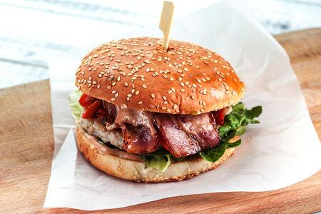 Бургер с курицей Аля-Фахитос