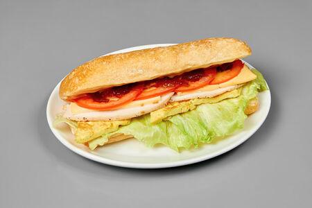 Сэндвич Сырный с куриной грудкой
