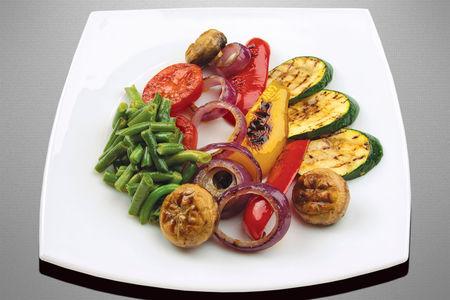 Овощи обжаренные