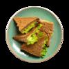 Фото к позиции меню Клаб сэндвич с куриным паштетом