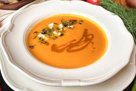 Крем-суп Тыквенный с кокосовым молоком
