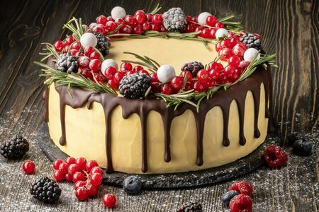 Торт Новогодний (заказ за 24 часа)