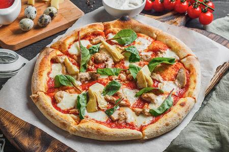 Пиццетта Куриная с артишоками