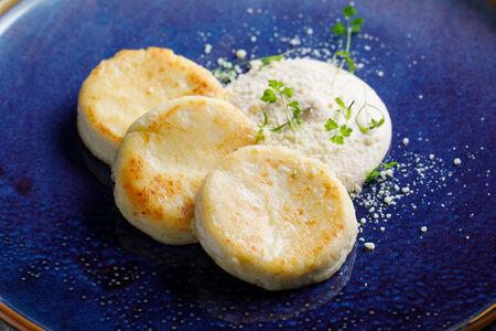 Сырники с кремом соленая карамель