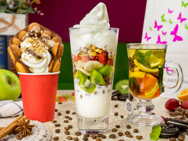 Coffee and parfait bar