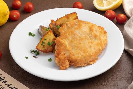 Свинина Бризоль с картофелем