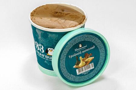 Мороженое Тройной шоколад