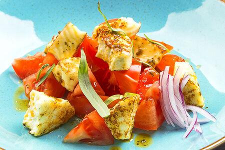 Салат с сыром Адыгейским