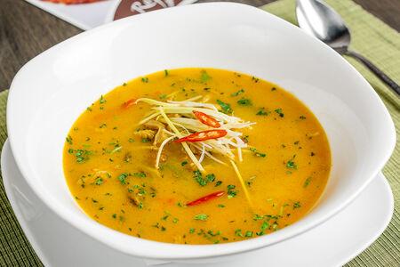 Суп по-тайски с курицей