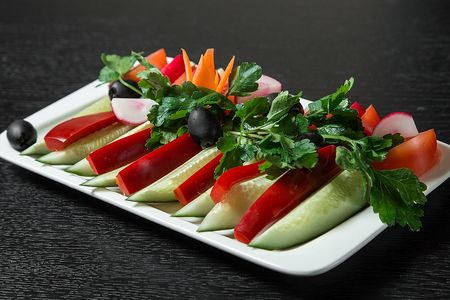 Салат Овощной букет