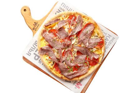 Пицца с Пастрами и печеным перцем