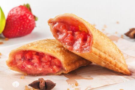 Пирог Клубника-лайм