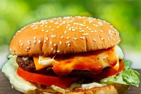 Бургер Blue Cheese
