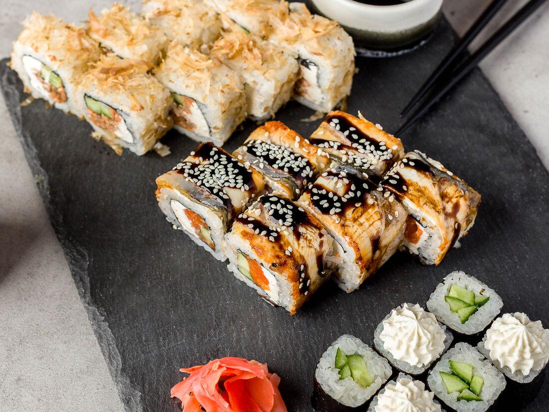 любимых женщин суши в челябинске суши в картинках удивительный