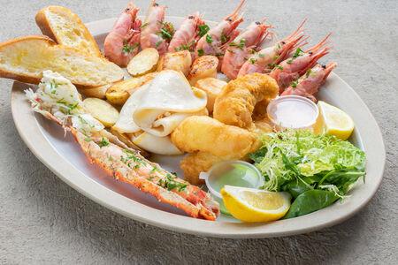 Обед рыбака