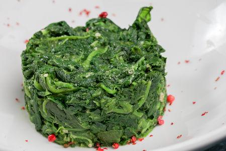 Запеченный шпинат