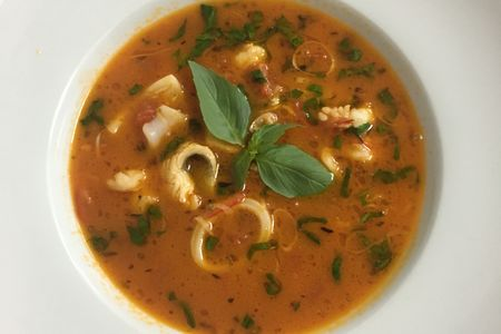 Суп по-средиземноморски