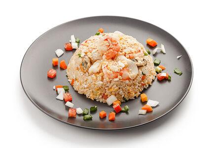 Рис жареный