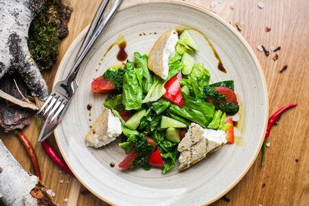 Салат Овощной, не греческий