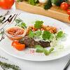 Фото к позиции меню Люля Кебаб с тар-таром из томатов