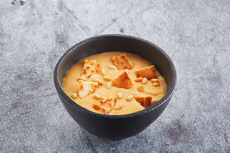Десерт Гурьевский с чипами и орешками